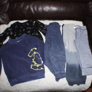 Small Lot 18 Month Comfy Clothes